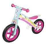 WOOMAX - Unicornio 12 Bici sin Pedales en Madera, Color Multicolor, 85373
