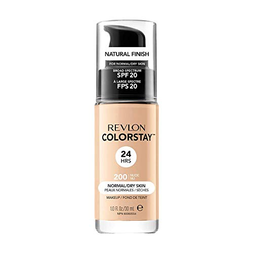Revlon ColorStay Base de Maquillaje piel normal/seca FPS20 30ml (Nude)