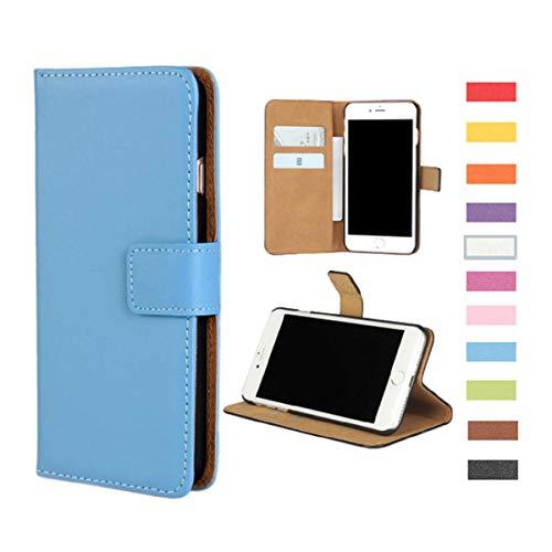Jaorty Samsung Galaxy S9 Plus Case,Premium PU Leather Folio Wallet Case Flip Cover Book Design Kickstand Feature & Magnetic Closure & Card Slots/Cash Compartment Samsung S9 Plus,Blue
