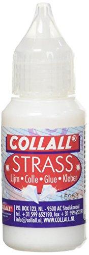 CollAll - Strasskleber 25ml, Transparent, Packung mit 1 Flasche