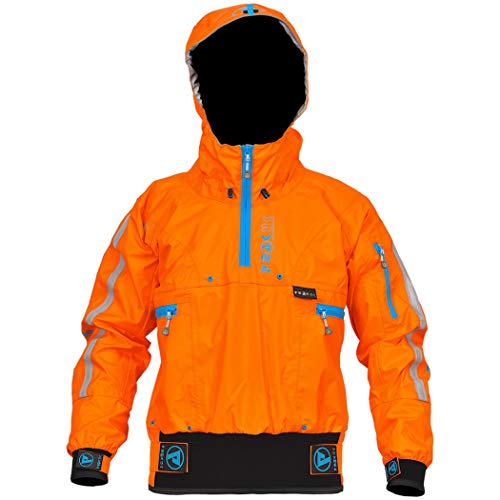 Peak UK Adventure Single Jacket - Chaqueta para kayak, color naranja