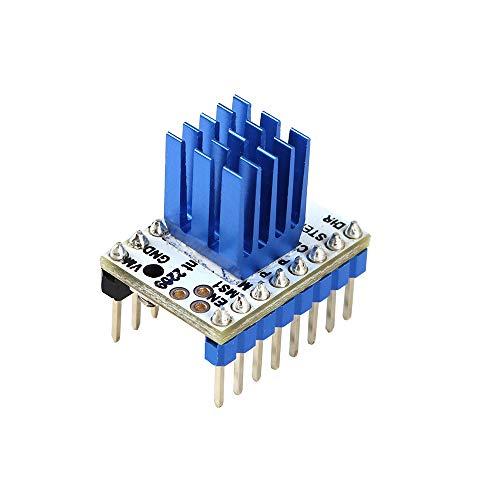 ILS - 4 stuks TMC2209 V2.0 stappenmotordriver Super Silent Stepsticks Mute-driverplaat 256 micro voor Sidewinder 3D-printer