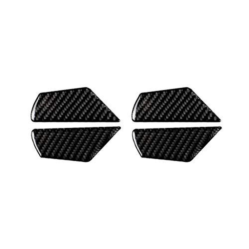 Duoles Carbon Fiber Steering Wheel Cover Panel Frame Trim for Honda Civic Si 2016-2017 2018