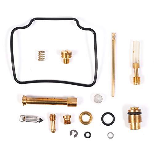 CQYD New Carburetor Rebuild Kit Carb Repair for Suzuki Quadrunner 500 LT-F500F 1998-2002