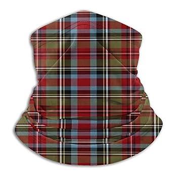 State of North Carolina Tartan Women Men Face Cover Bandanas Headwear Neck Gaiter Headwrap Balaclava