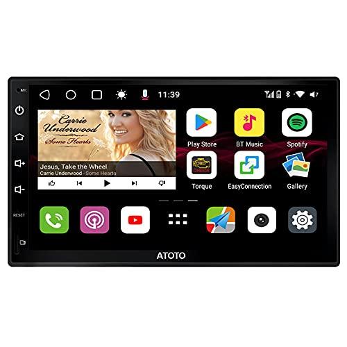 [Nuevo]ATOTO S8 Gen 2 Premium Android Audio Radio, S8G2B74PM, Poderoso Soc, BT doble con aptX HD, Enlace telefónico (Android Auto y Carplay Inalámbrico),Pantalla QLED, Retrovisor HD con LRV,SCVC y más