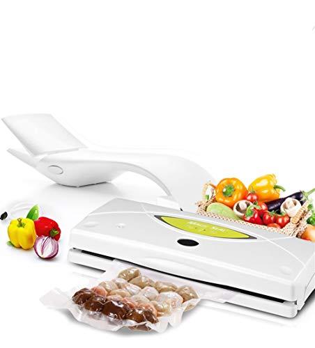 ZXQK Envasadora Al Vacío,Pequeña Máquina Doméstica De Sellado Al Vacío para Preservación De Alimentos Y Fácil De Almacenar 220V De Potencia