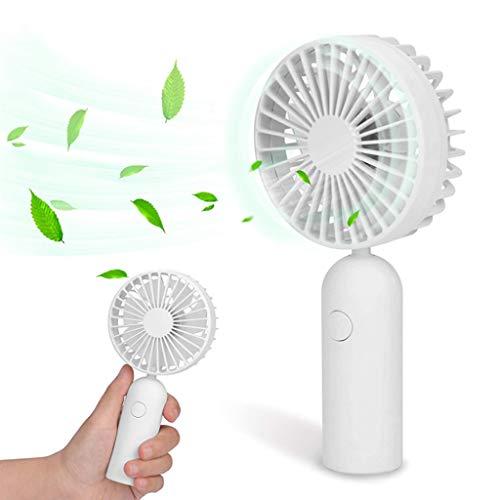 99native Aufladbar Klein Ventilator, Nebelventilator, Sprühnebler, Tragbarer Persönlicher Wiederaufladbarer Handventilator Mini Lüfter, USB Fan für Büro/Zuhause/Reisen/Camping (Weiß)