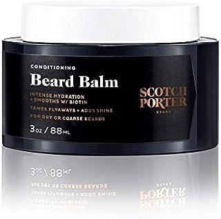 Scotch Porter Beard Balm for Men — Beard Care Styling Product (3 oz)