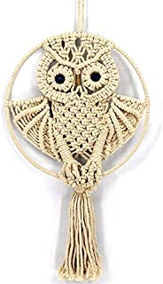 CHICIEVE Owls Dream Catchers Cotton Macrame Wall Hanging for Kids Bedroom Wall Decor 22