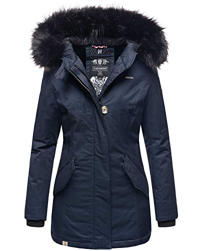 Navahoo dames winter jas parka mantel winterjas warm gevoerd B626