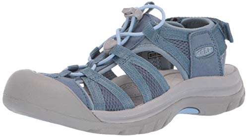 KEEN Women's Venice II H2 Water Shoe, Blue Mirage/Citadel, 9.5 M US