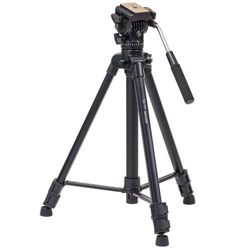 "Takama 66"" 3 Section Flip Video Camera Tripod withFluid Drag Head"