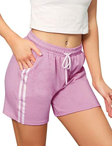Pantalones Cortos Deportivos para Mujer Entrenamiento Yoga Verano para Hacer Ejercicio Trotar...
