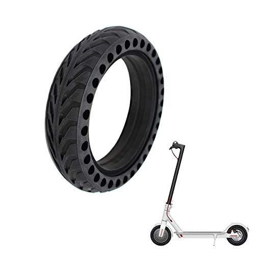 Z-FIRST Solid Tires 8.5 Inches Electric Scooter Wheels Replacement Tire 8-1/2'' Front or Rear Honeycomb Tires for Xiaomi Mijia M365, Gotrax GXL V2 and More (1)