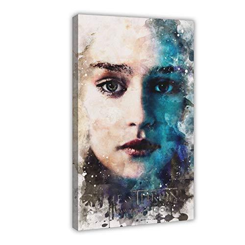 Poster sur toile Game of Thrones pour chambre à coucher, sport, paysage, bureau, décoration de chambre, cadeau 60 × 90 cm