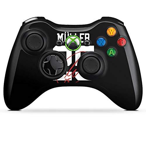 DeinDesign Skin kompatibel mit Microsoft Xbox 360 Controller Aufkleber Folie Sticker Müller #25 FC Bayern München Trikot