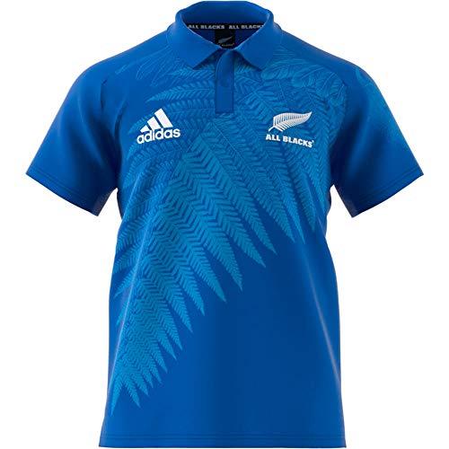 adidas AB RWC Ant Polo Homme, Blanc/Bleu, XXL