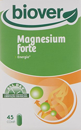 Biover Magnesium Forte, Minerales - 45 Cápsulas