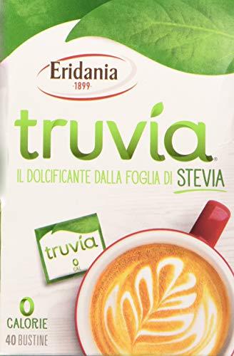 Eridania Dolcificante Truvia - 40 Bustine da 1 Gr