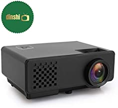 Dinshi Infinix Full HD Projector 1000 Lumen LED Projector with HDMI/VGA/USB Ports