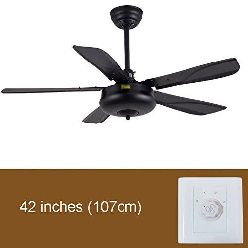Plafondventilatoren met verlichting 42/56 inch hout bladeren zonder lamp plafondventilator modern eenvoudig zonder licht ventilator