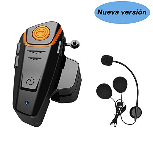 KOEITT BT S2 Intercomunicador Casco Moto,Auriculares Bluetooth para