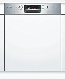 Bosch Serie 4 SMI46CS02E lavavajilla Semi-incorporado 13 cubiertos A++ - Lavavajillas (Semi-incorporado, Tamaño completo (60 cm), Acero inoxidable, 1,75 m, 1,65 m, 1,9 m)
