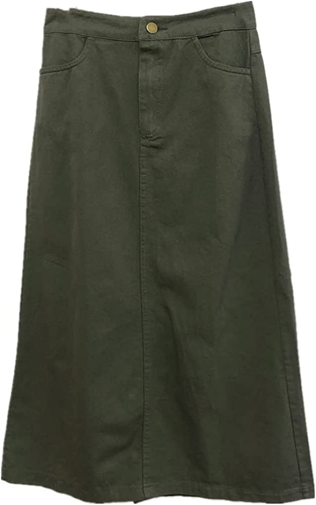 A-line Skirt in Spring and Summer