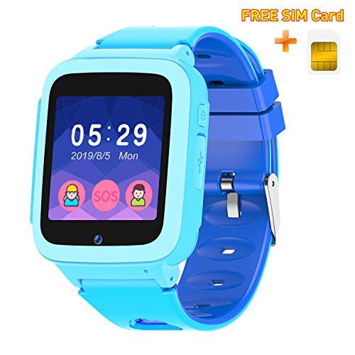 UOTO Smart Watch Phone for Kids with Free SIM Card, Wrist...