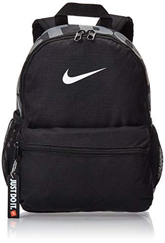 Nike Y NK BRSLA JDI Mini BKPK Mochila, Juventud Unisex, Black/Black/White, One...