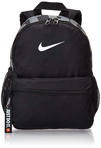 Desconocido Nike Y NK BRSLA JDI Mini BKPK Mochila, Juventud Unisex, Black/Black/White, One Size