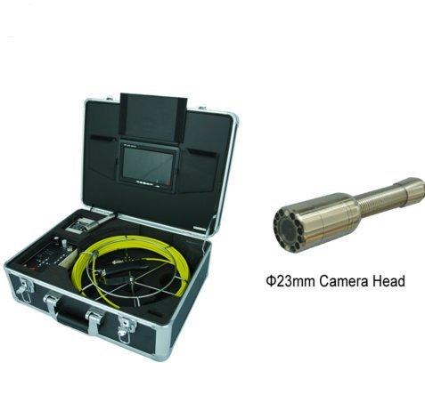 mabelstar 30m Cable Inspección Cámara de alcantarillado de desagüe para venta con pantalla LCD de 7pulgadas y DVR función