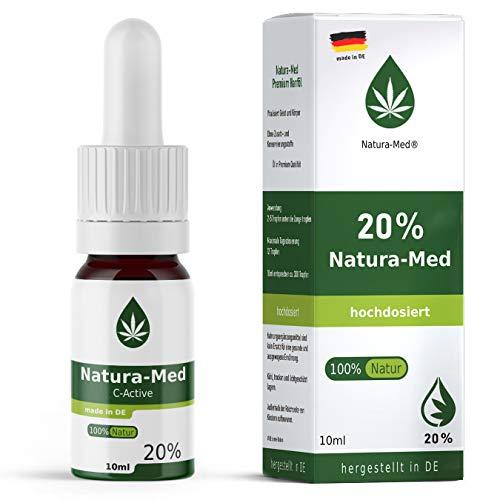 20 C-Active Natur Öl Tropfen 10ml |100{a19beb64da939c317d21246ab3c09d34b03d7c5320dc1003a65e9c84eea7f03e} reines Naturprodukt•vegan•EU zertifizierter Anbau•hochdosiert und rein – made in DE - Prozent (10ml)