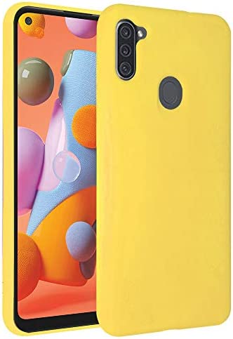 Samsung Galaxy A11 Case Liquid Silicone Case with Microfiber Lining Thickening Shockproof Design product image