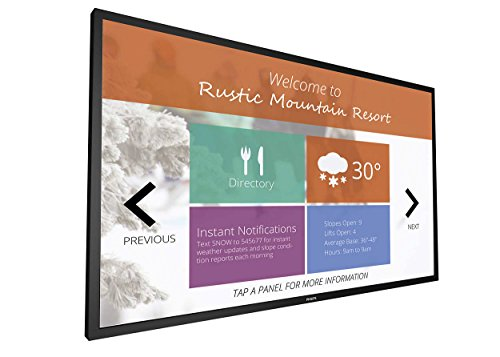 Price comparison product image Philips 75BDL3010T / 00 Signage Solutions Multi-Touch Display - Black