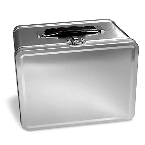 Plain Metal - Customizable - Lunch Box
