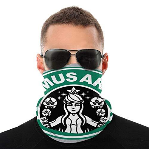 Metroid Starhunt Samus Aran Kaffee Sorte Kopftuch Gesichtsschutz Magic Headwear Neck Gaiter Gesicht Bandana Schal