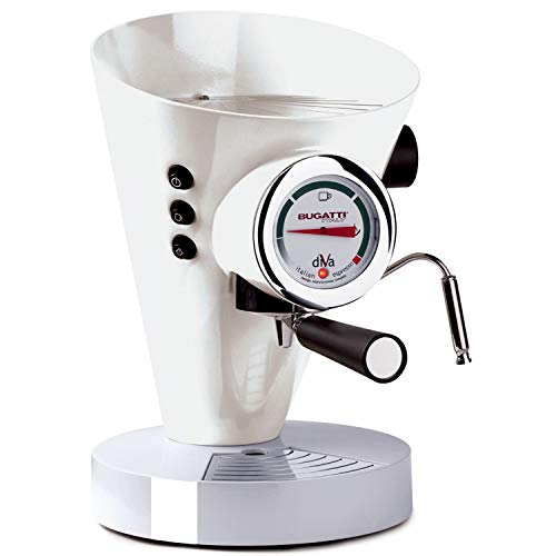 CASA BUGATTI Macchina per il caffè Espresso 15-DIVAC1 bianco