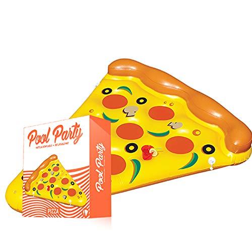 La bouée gonflable pizza