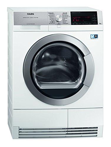 AEG T97685IH3 Wärmepumpentrockner / A+++ / 8 kg / Wolle und Seide Trockenprogramm