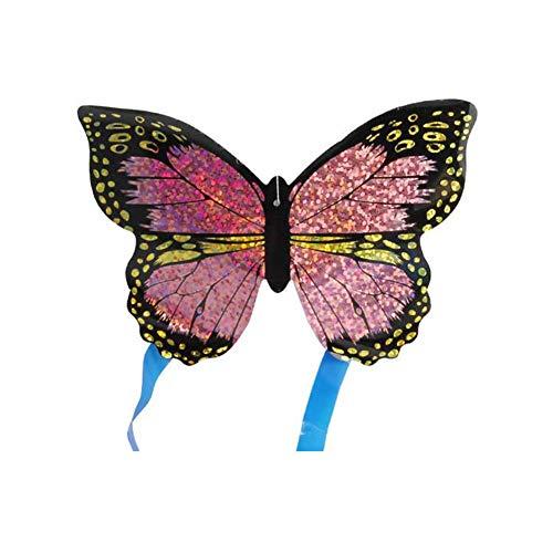 LovePlz 1 Stück Minidrachen, Drachen Für Kinder, Bunte Drachen, Insektenschmetterlingsflugzeug Outdoor Sports Minidrachen Kinder Interaktives Flugspielzeug Schmetterling* Zufälliger Stil & Farbe