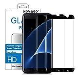 NOVAGO Compatible avec Samsung Galaxy S7 Edge -Pack de 2 Films Vitre Protection...