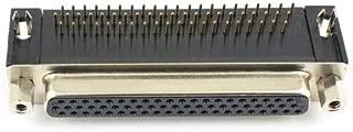 FidgetKute Plug 2Pcs New D-SUB 62 Pin Female Right Angle Adapter Connector 3 Rows DB62F