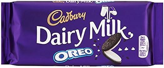 Cadbury Dairy Milk Chocolate Bar de Biscuits Oreo 120 g (Pack de ...