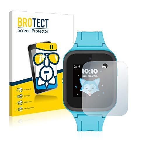 BROTECT Panzerglas Schutzfolie kompatibel mit TCL Movetime FamilyWatch Kids MT40X - 9H Extrem Kratzfest, Anti-Fingerprint, Ultra-Transparent