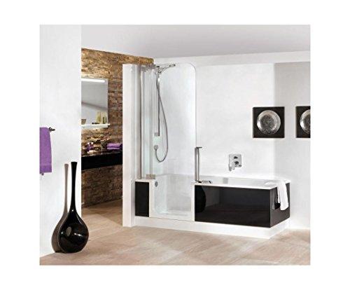 Artweger Twin Line 2 bañera y ducha Combina 160 cm Mampara de ...