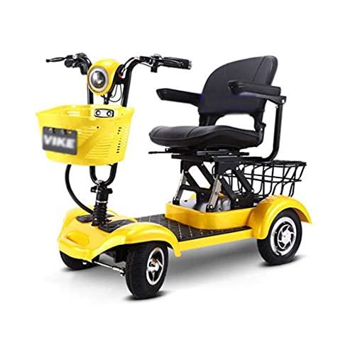 Scooter de Movilidad de Viaje de 4 Ruedas para Scooter eléctrico de...