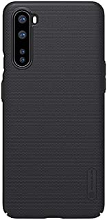 """Nillkin Case for OnePlus Nord One Plus Nord (1+) Nord (6.44"""" Inch) Super Frosted Hard Back Cover PC Black Color"""