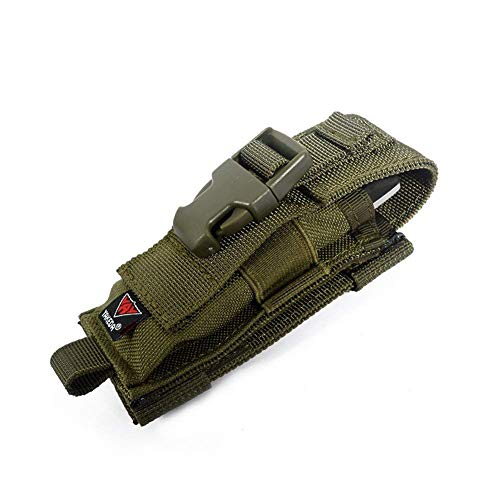 Multitool Pouch Sheath Folding Knife Sheath Pouch for Belt Molle Flashlight Mag Pouch